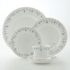 Royal Albert Memory Lane Collection --This is mine! (china). I was given 2 cups & saucers, a sugar & creamer set and a platter for high school graduation! I would love more to add to my collection.