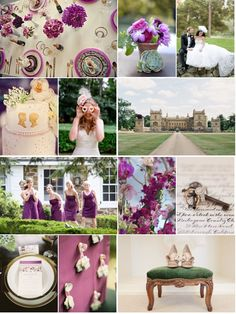 The Royal Wedding, True Event Design Inspiration Board (www.trueevent.com)