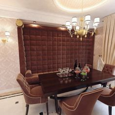 The couch plays a major visual role, and nicely fits the technical constraints of the space. Plays, Art Deco, Couch, Space, Table, Furniture, Design, Home Decor, Deco