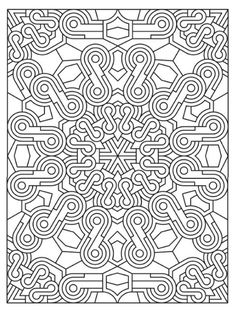 Printable Detailed Mandala Coloring Pages   for the month of