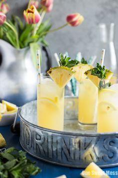 Pineapple Vanilla Bean Martini /jlphaneuf/