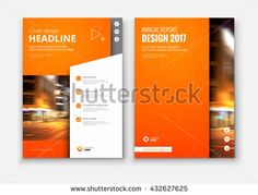 flyers design template vector brochure annual report business