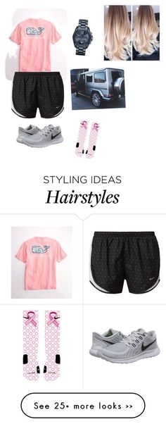"""I want to dye my hair"" by preppy2015 on Polyvore featuring NIKE and Michael Kors"