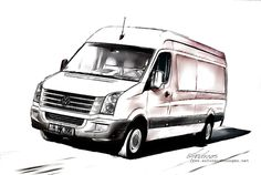 https://flic.kr/p/KnfKm1   VW Crafter 2016 - Pencildrawing by www.autozeichnungen.net   VW Crafter 2016   www.autozeichnungen.net  This method of line drawing stock images is a unique way to present exclusive products crafted to the very highest standards, and is a tasteful and distinctive means of effectively conveying this product information to your customers in a highly memorable format.  If you are interested in my work here, please contact me and I'm sure we can work out something…