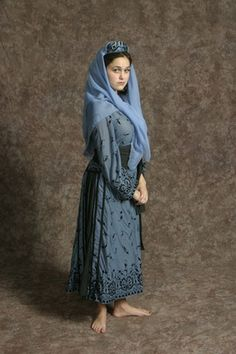 $15.00 Costume Rental  Brother's Wife Blue  blue overdress, black petticoat, black sash, blue hat (2 avail.)