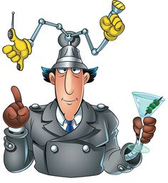 Inspector Gadget by Wagner Designs, via Flickr