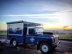 Vintage Jeep, Coffee Business, Coffee Truck, Land Rover Defender, Street Food, Offroad, Cambridge, Coffee Shop, Monster Trucks