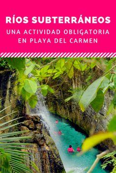 Ríos Subterráneos de Xcaret: una actividad obligatoria en Playa del Carmen.