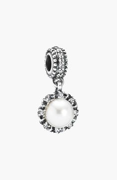http://www.newtrendclothing.com/category/pandora-charms/ Free shipping and returns on PANDORA 'Everlasting Grace' Pearl Dangle Charm at Nordstrom.com. A halo of sparkling cubic zirconia enhances pearl's natural radiance in this super-giftable PANDORA charm.