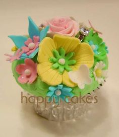 Proposal Cup Cake ~ Special Occasion | Happy Cakes