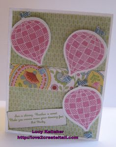 My Sunshine - CTMH Stamp of the Month - Chantilly paper, used Artiste  #card, #sunshine