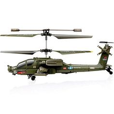 Syma S109G Indoor Outdoor 3.5 Channel RC Helicopter with Gyro Toy Gift Army-green
