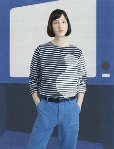 See the complete Maison Kitsuné Pre-Fall 2017 collection.