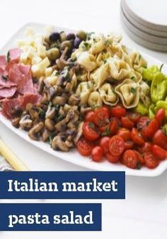 Italian Market Pasta Salad – Sure, there's chill time involved, but the actual time needed to make this impressive Italian Market Pasta Salad? Just half an hour.