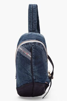 DIESEL Small Denim Back-HOB bag