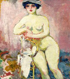 KEES VAN DONGEN 1877 - 1968 Nu À La Chaise