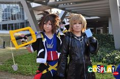 Sora Cosplay from Kingdom Hearts in Comiket 81 2011 Tokyo