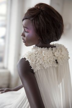 Shibasakura inspired wedding dress by StudioEnshi on Etsy,
