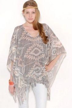 Arizona Knit Poncho by AKIRA | Poncho Top | shopAKIRA.com - StyleSays