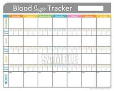 diabetes log book template