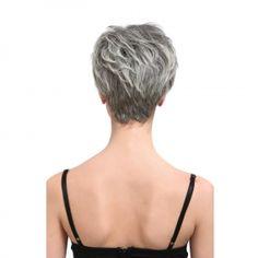 .short grey hair