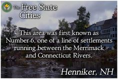 Learn all about Henniker, New Hampshire at our site! http://freestatenh.org/encyclopedia/cities/henniker