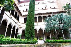 schöner Hof in Montserrat