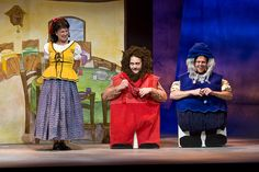 Santa Barbara Children's Theatre Snow White, Ensemble Storybook Theatre. David Bazemore, Photographer