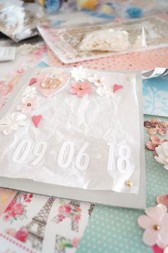 ✄ WEDDING CARD #DIY #weddingcard #card #wedding #cardmaking #weddingcelebrationcard