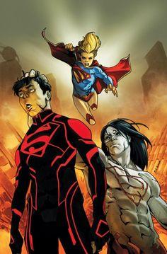 La familia #Superman llegó