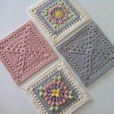 Transcendent Crochet a Solid Granny Square Ideas. Inconceivable Crochet a Solid Granny Square Ideas. Crochet Quilt, Crochet Blocks, Crochet Home, Crochet Motif, Crochet Crafts, Crochet Stitches, Crochet Baby, Crochet Projects, Granny Square Crochet Pattern