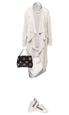 """#390"" by moofka ❤ liked on Polyvore featuring Lanvin, Joseph, Marni, Witchery, Alexander McQueen, Chanel, women's clothing, women, female and woman"