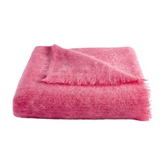 Discover the Cath Kidston Mohair Blanket - Pink at Amara