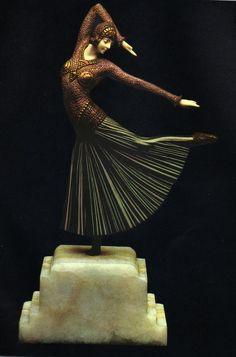 Sublime statuette ! par Demetre Chiparus
