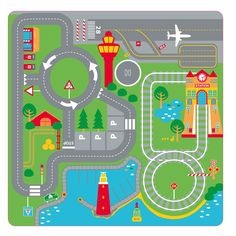 Pop Up Transport Playmat, an ideal present for kids Age 6, who will enjoy hours of imaginative play with this fold away play mat.