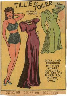 Tillie the Toileter - December 22, 1941
