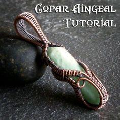 TUTORIAL Ornamental Cage Wrap Pendant