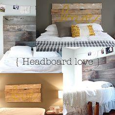 gorgeous homemade headboard ideas!