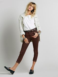 Free People High Rise Roller Skinny , $68.00