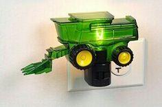 John Deere Tractor night light for a little boys room