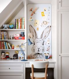 cut-to-fit magnetic wallpaper, martha stewart. Kid's room