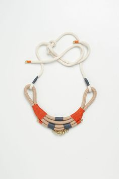 Mali Crescent Shaped neckpiece with bells and by PICHULIKDESIGNS, $60.00