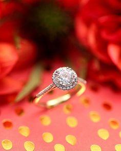 49 Stunning Engagement Ring Ideas That We Love ❤ engagement ring ideas round cut engagement rings #weddingforward #wedding #bride