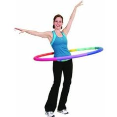 How to Lose Weight Fast with Aerobics Exercises Using Hula Hops #WeightLoss #Fitness #ExerciseForWeightLoss