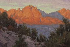 North to Zion by Cody DeLong  ~ 8 x 12