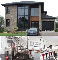 Fine W3713 V1 Affordable Contemporary Modern Home Plan With Family Largest Home Design Picture Inspirations Pitcheantrous