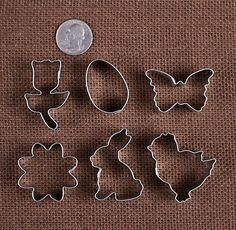 Mini Easter Cookie Cutters | www.bakerspartyshop.com - 2