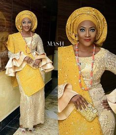 Aso Oke Fabrics /African women s clothing / African fashion/ wedding suit/ elegant women outfit /Special event dress/lace fabrics - African Lace Styles, African Lace Dresses, African Fashion Dresses, African Wedding Attire, African Attire, Wedding Suit Styles, Wedding Suits, Wedding Hijab, Wedding Cakes