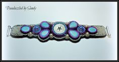 Day Trippin': A Bead Embroidered Bracelet от beadazzledbysandy
