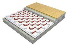 Placa para piso radiante Isofloor. Polinorte SA (www.polinorte.com). Es una placa de Poliestireno expandido de alta densidad diseñada exclusivamente para mejorar al máximo el rendimiento del sistema de calefacción por piso radiante. Rapidez de instalación; aislación térmica continua; simpleza para su colocación; innovación y versatilidad.